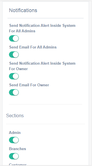 AdminsBook Users Tracking